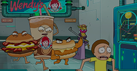 Wendy's Teams Up with Adult Swim's Rick and Morty