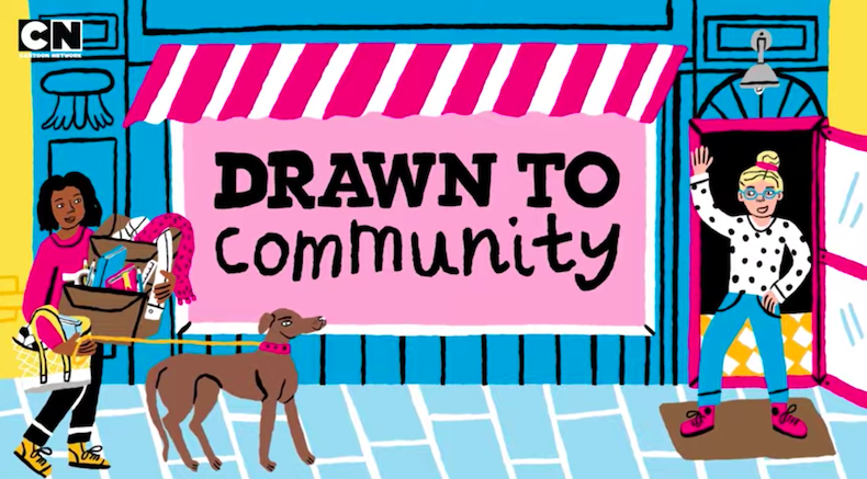 Drawn To is a series showcasing new youth voices