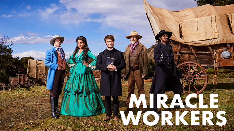 Miracle Workers on TBS